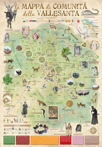 Mappa di comunità della Vallesanta