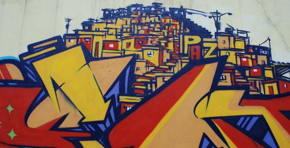 Graffiti favelas