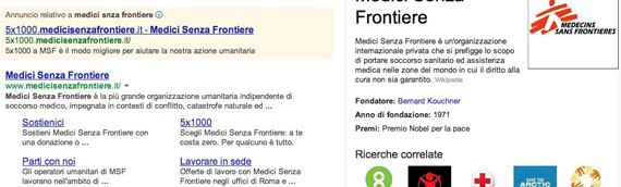 Google Knowledge Graph e non profit