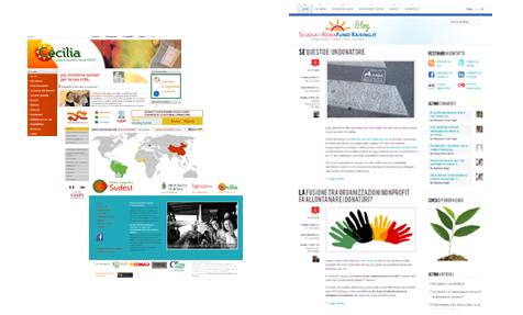 Realizzazione siti Web per il Non Profit